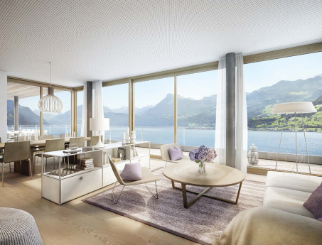 Traum am See: 4.5 Zimmer-Penthouse