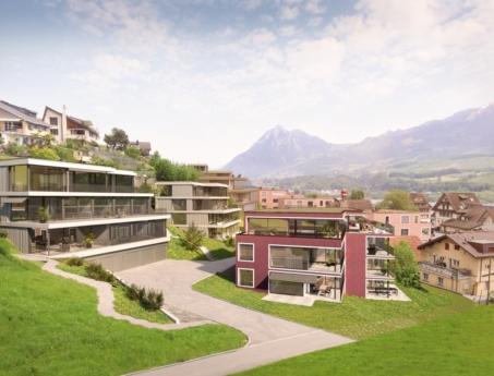 Leben an der Obwaldner Riviera: Chappelenmatt in Wilen bei Sarnen
